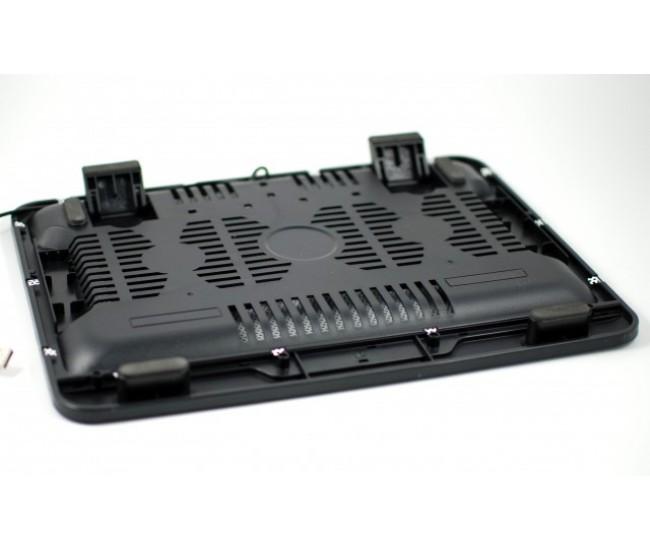 Masa suport laptop, notebook cooler pad - 2 coolere 80mm