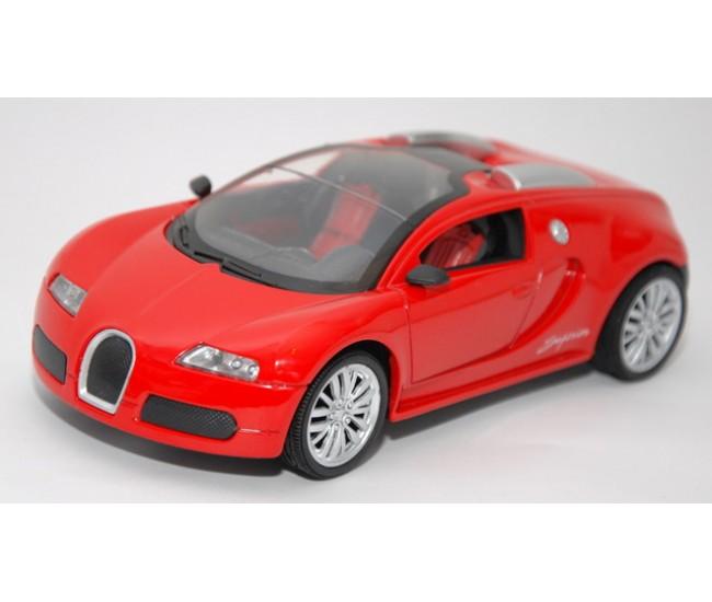 Masinuta metalica Bugatti Sport cu radio comanda si acumulatori - Sara 1:24