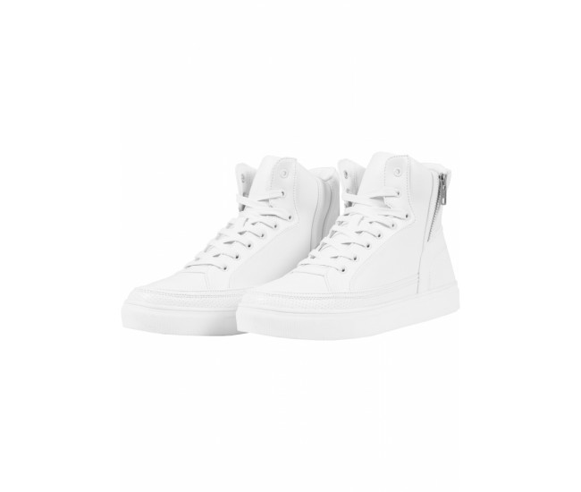 Zipper High Top Shoe