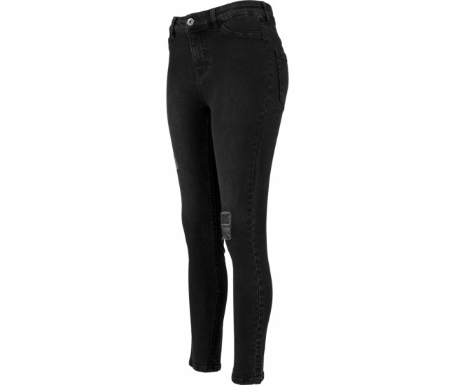 Ladies High Waist Skinny Denim Pants