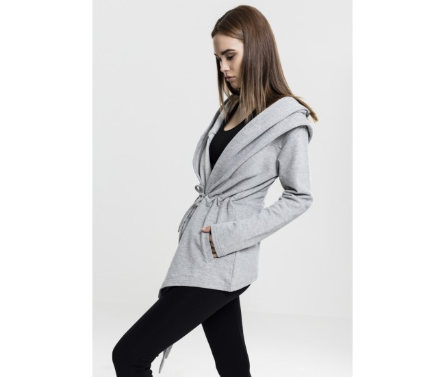 Ladies Hooded Sweat Cardigan