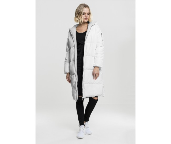 Ladies Oversized Hooded Puffer Coat