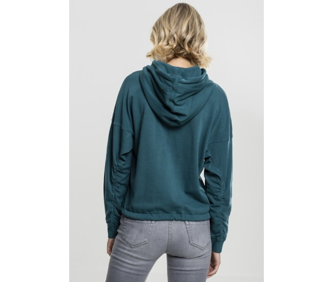 Ladies Oversized Gathering Hoody
