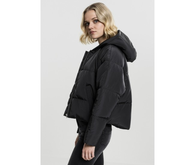 Ladies Hooded Oversized Puffer Jacket
