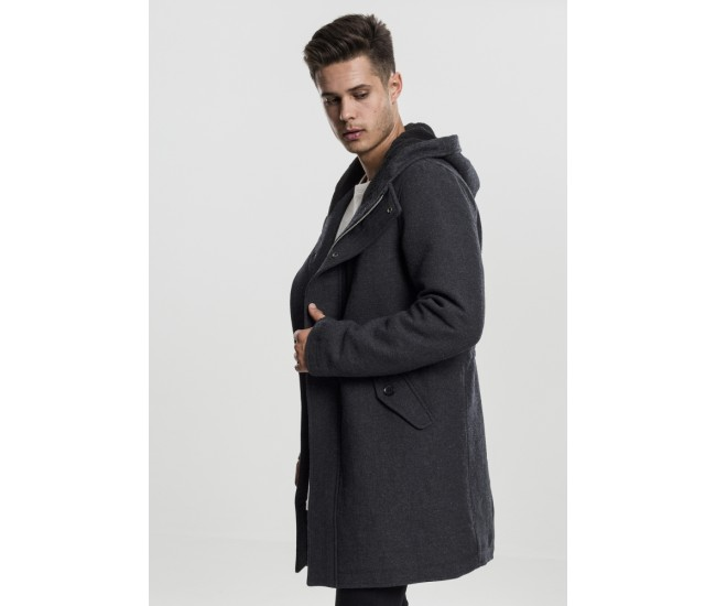 Hooded Structured Parka