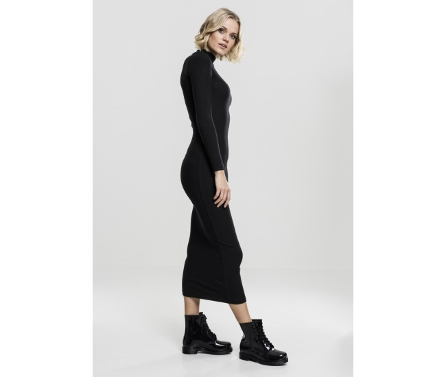 Ladies Long Turtleneck Dress