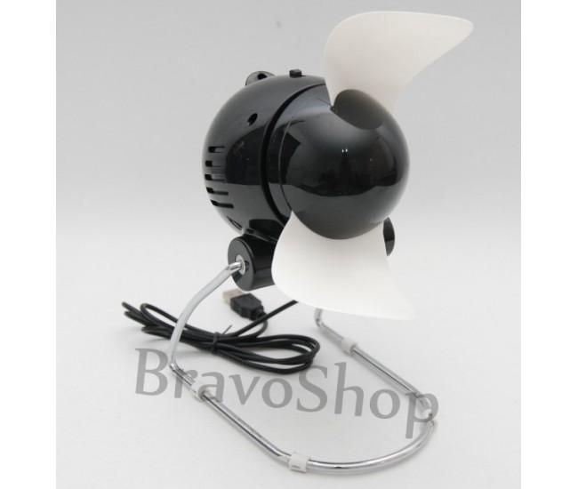 Ventilator cu USB sau baterii (Super Mute) - Diverse culori