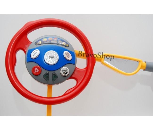 Volan de jucarie cu sunete si lumini / Simulator de conducere copii