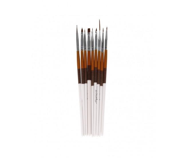 Pensule unghii set 9 NBS09A
