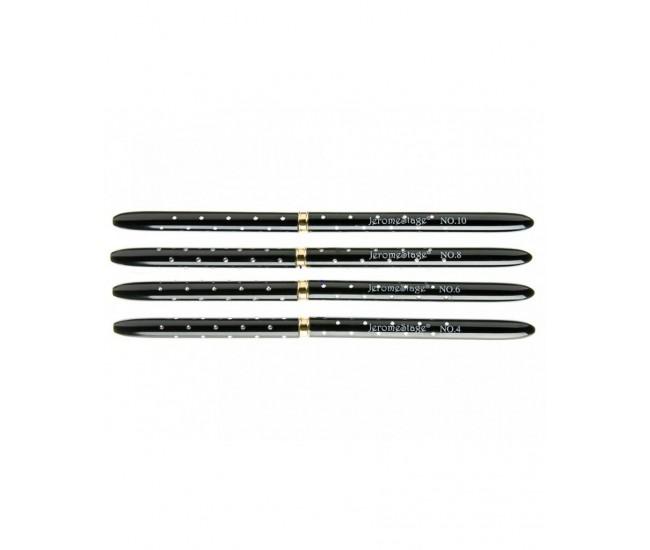 Pensula capac cristale NB103, rotund