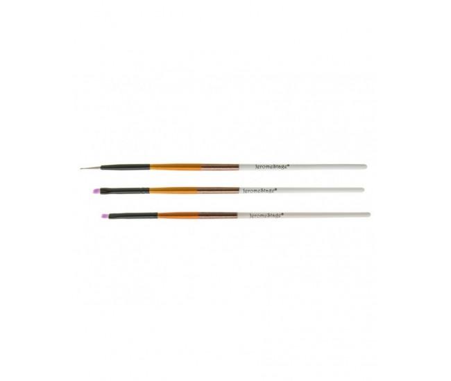 Pensule pentru unghii set 3 JS NBS03