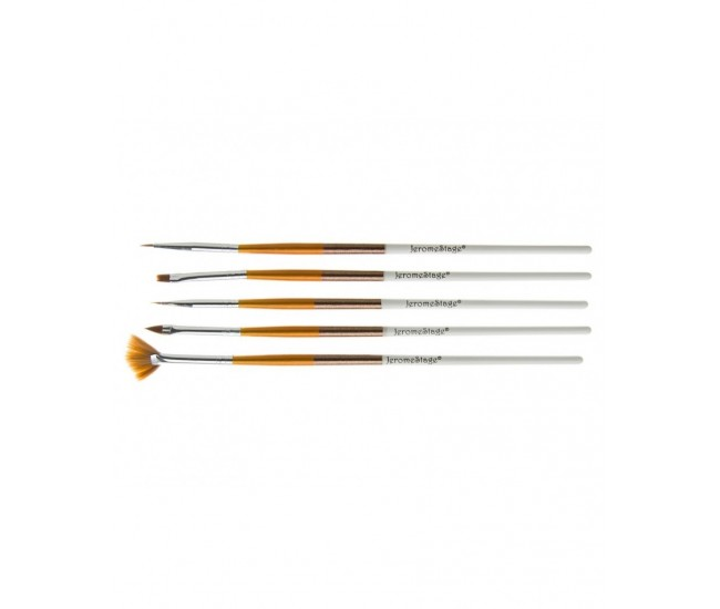 Pensule pentru unghii set 5 JS NBS05