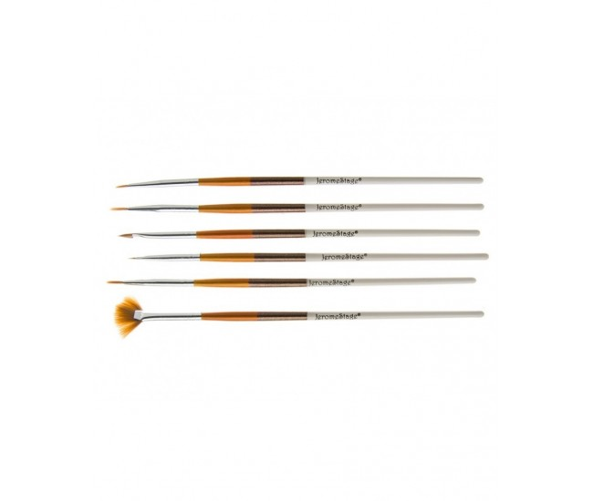 Pensule pentru unghii set 6 JS NBS06