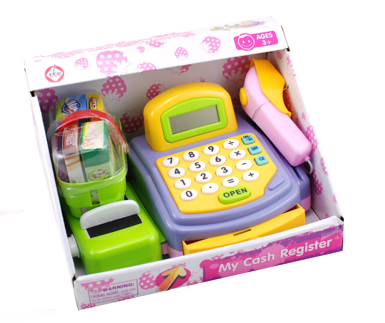 Casa de marcat, jucarie cu scanner si calculator functional - Cel mai frumos cadou pentru copii