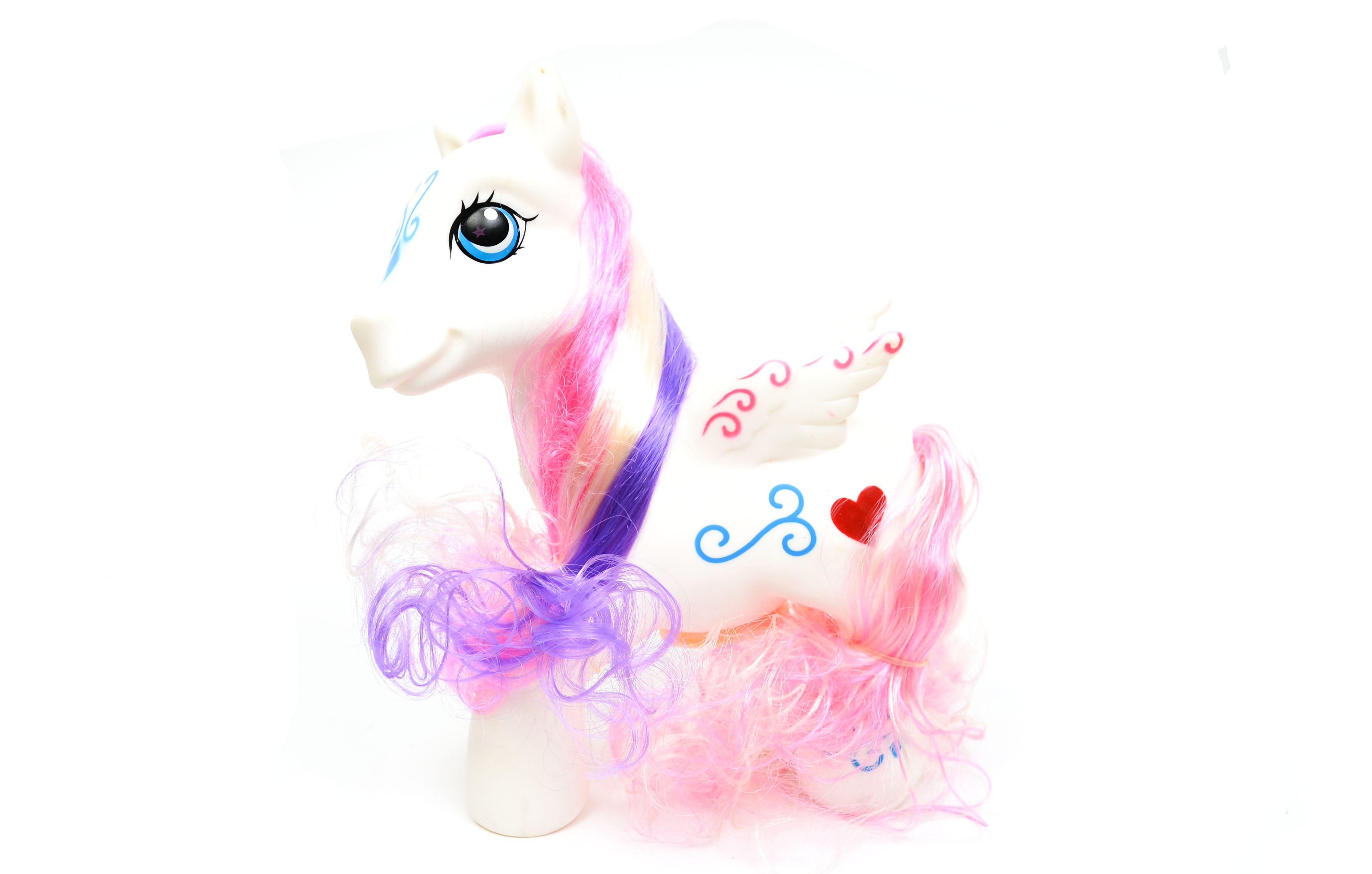 Jucarie Calut / Ponei alb pentru fetite - Lovely Horse 1251A