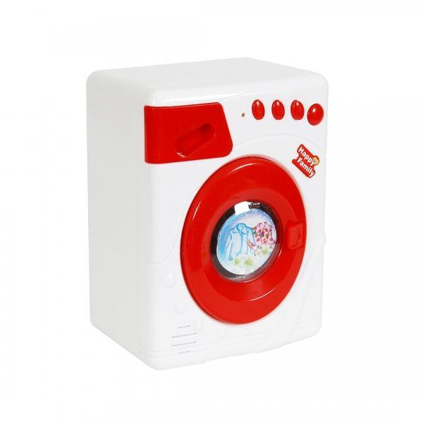 Masina de spalat de jucarie cu sunete si lumini, rosie - LS820K6