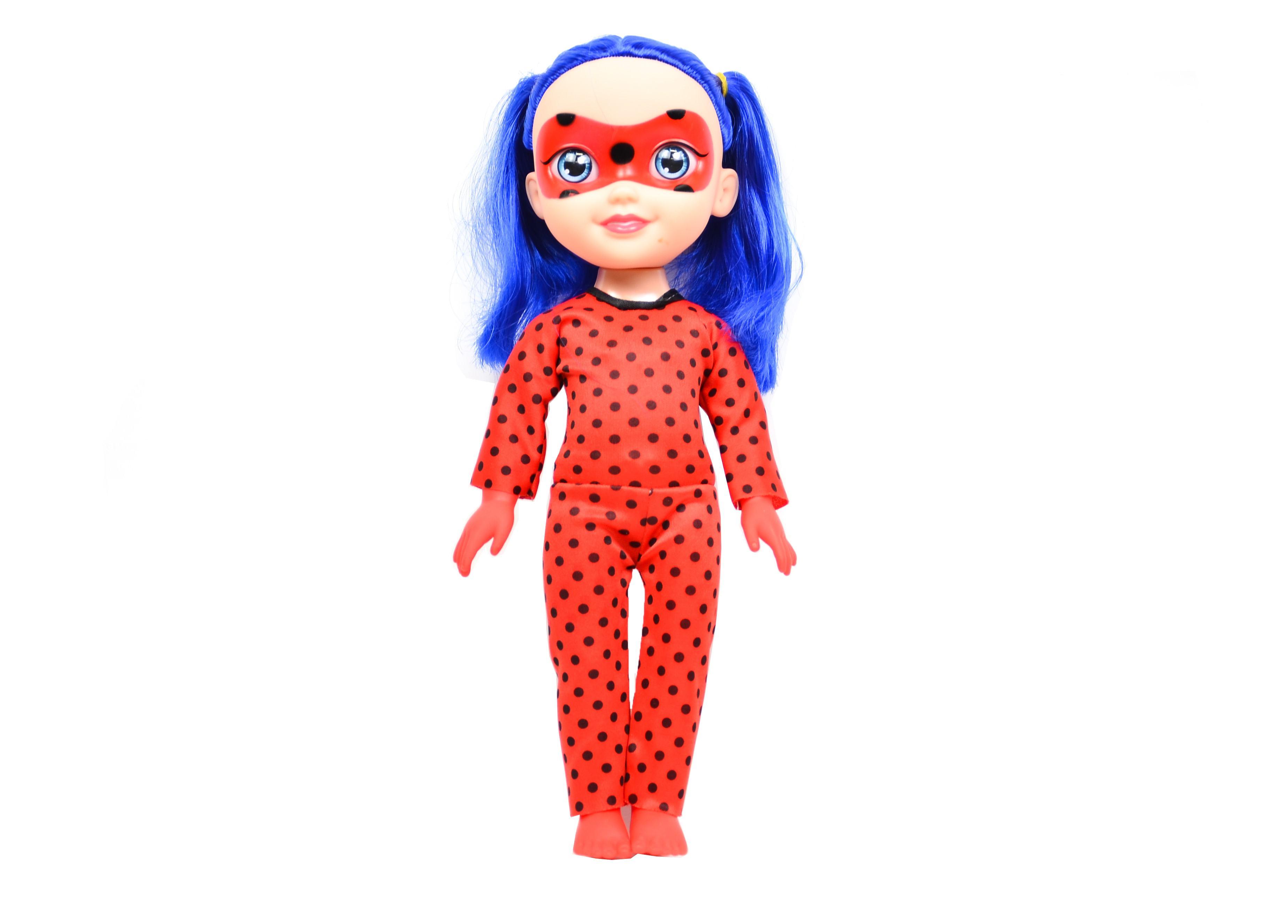 Papusa Miraculos Buburuza de jucarie pentru fetite - 35 cm - PM871