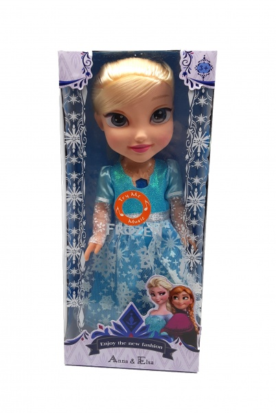 Papusa de jucarie pentru fetite, Elsa cu muzica - BL189