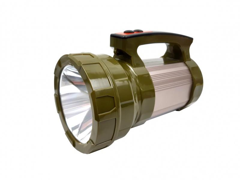 Lanterna profesionala de vanatoare cu acumulator incorporat T6 CREE LED 10 W - BB001