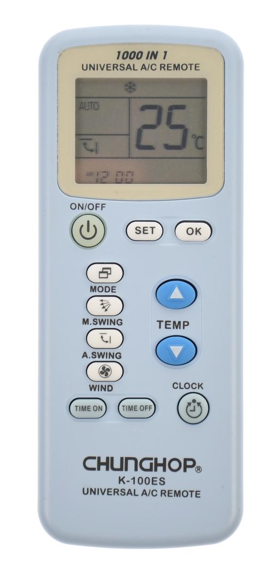 Telecomanda universala aer conditionat, albastra - K100ES