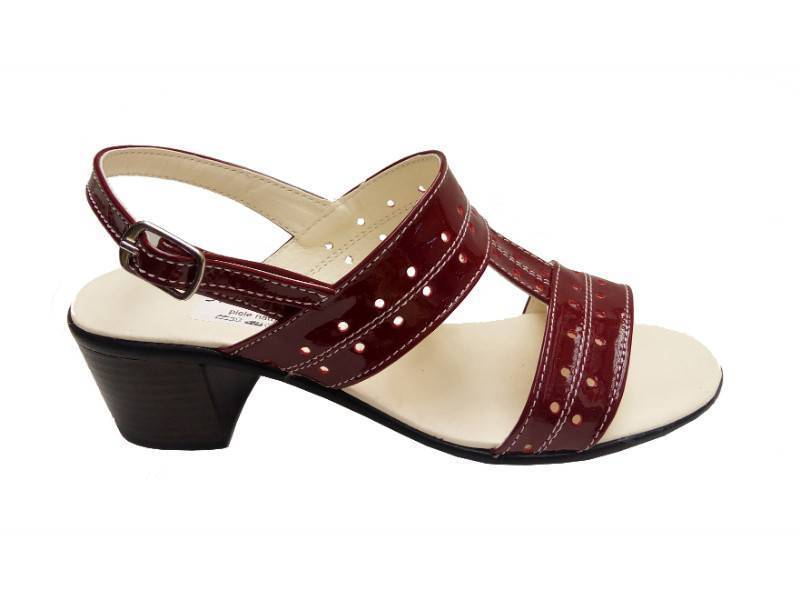 Sandale dama albe din piele naturala Made in Romania S7VLAC