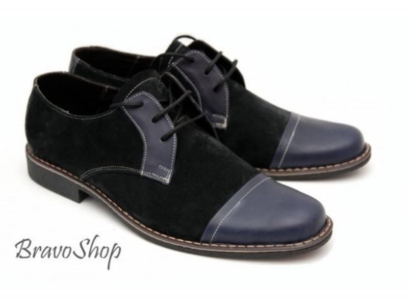 Pantofi barbati casual-eleganti din piele naturala Rovi Design P45
