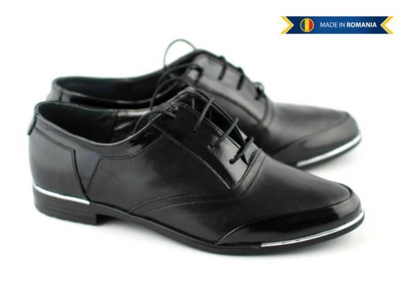 Pantofi dama casual din piele naturala - Made in Romania