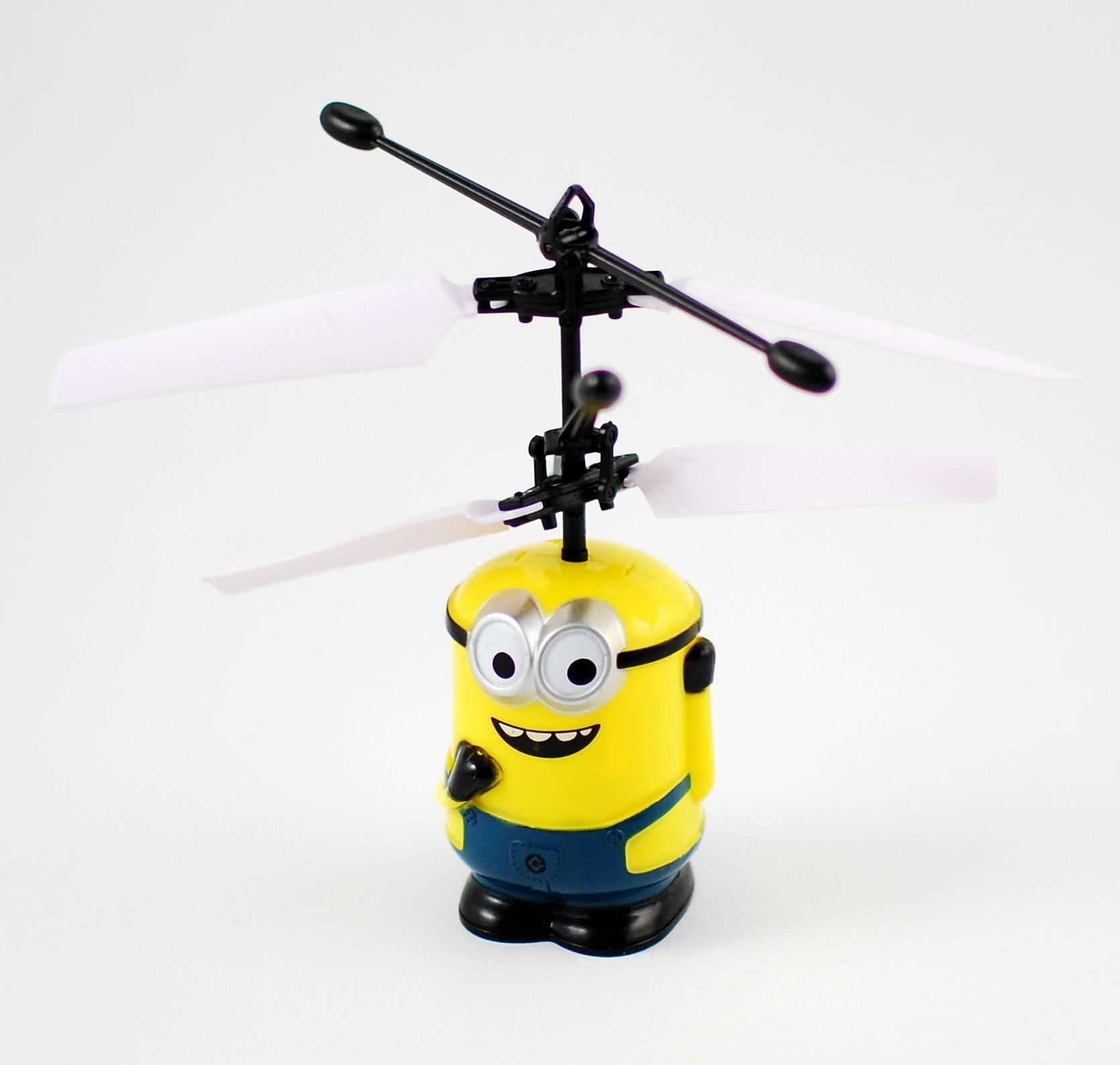 Drona Minion - Jucarie zburatoare reincarcabila (usb inclus)