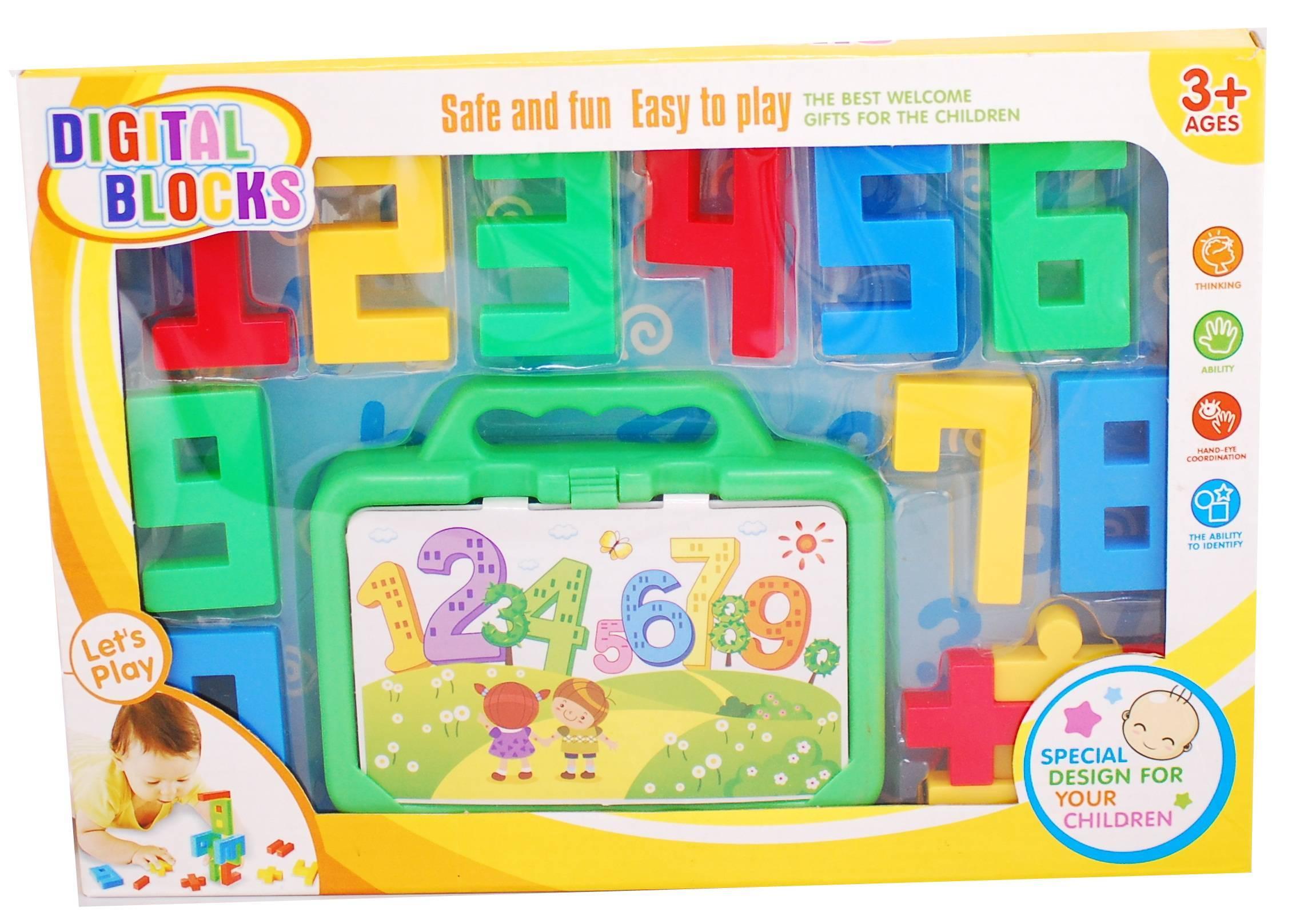 Joc educativ cu cifre - jucarie educativa