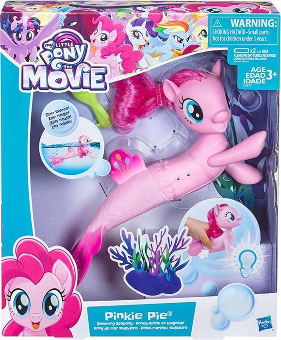 Set De Jucarii My Little Pony The Movie Pinkie Pie Swimming Seapony Playset