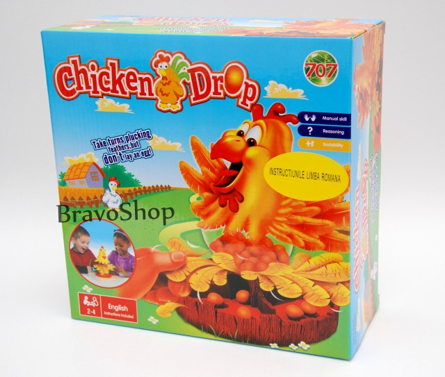 Joc interactiv cu gaina, oua si pene - Distractie pentru copii!