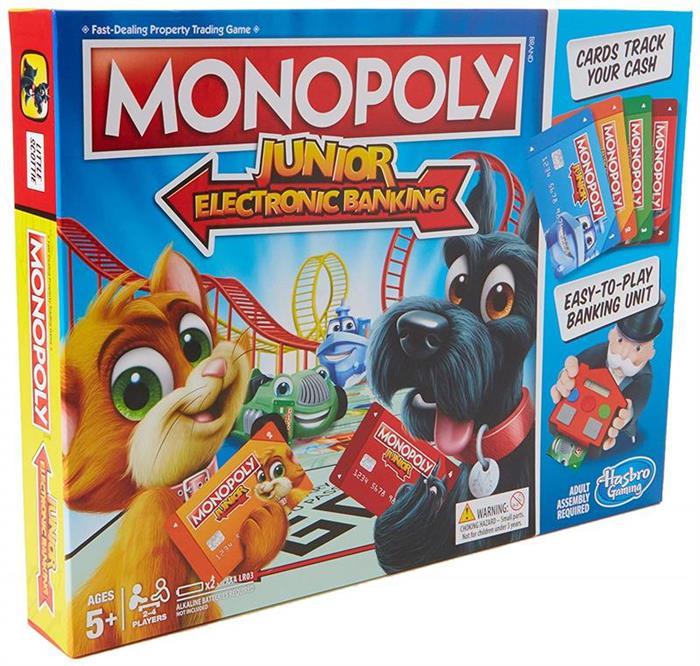 Joc Monopoly Junior Electronics Banking