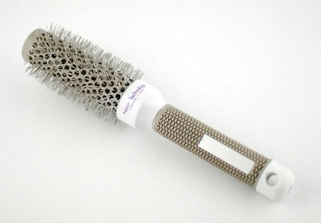 Perie profesionala de par, nano ceramic ionic 32 mm - Lila Rossa