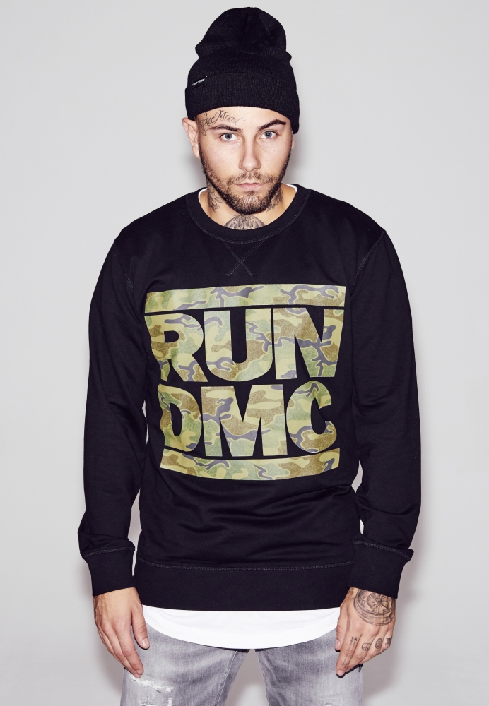 RUN DMC Camo Crewneck