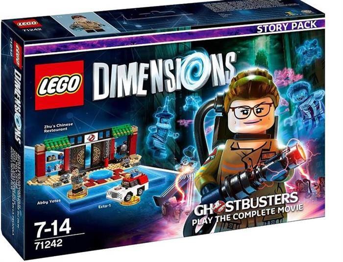 Set Lego Dimensions Story Pack Ghostbusters 2016