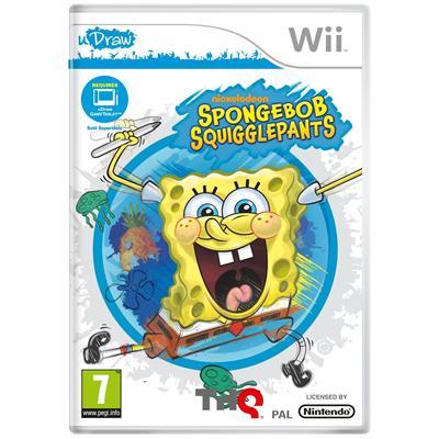 Spongebob Squigglepants Udraw Wii
